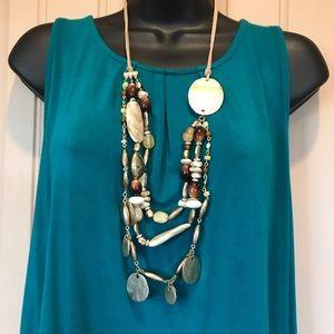 Fun Chico's bead necklace